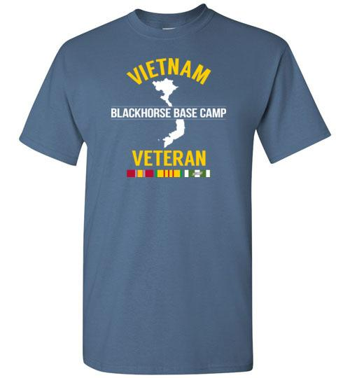 "Vietnam Veteran ""Blackhorse Base Camp"" - Men's/Unisex Standard Fit T-Shirt"