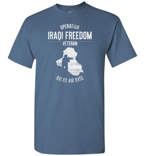 "Operation Iraqi Freedom ""Balad Air Base"" - Men's/Unisex Standard Fit T-Shirt-Wandering I Store"