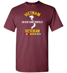 "Vietnam Veteran ""An Khe Army Airfield"" - Men's/Unisex Standard Fit T-Shirt"