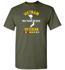 "Vietnam Veteran ""Nha Trang Air Base"" - Men's/Unisex Standard Fit T-Shirt-Wandering I Store"