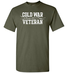 Cold War Veteran - Men's/Unisex Standard Fit T-Shirt-Wandering I Store