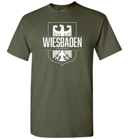 Wiesbaden, Germany - Men's/Unisex Standard Fit T-Shirt-Wandering I Store