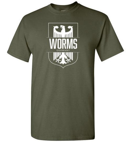 Worms, Germany - Men's/Unisex Standard Fit T-Shirt-Wandering I Store