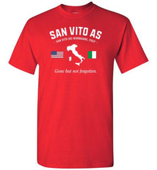 "San Vito AS ""GBNF"" - Men's/Unisex Standard Fit T-Shirt-Wandering I Store"