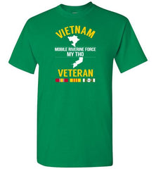 "Vietnam veteran ""Mobile Riverine Force My Tho"" - Men's/Unisex Standard Fit T-Shirt-Wandering I Store"