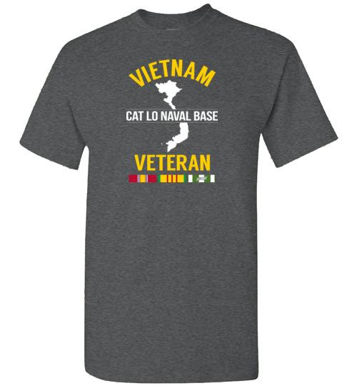 "Vietnam Veteran ""Cat Lo Naval Base"" - Men's/Unisex Standard Fit T-Shirt"