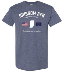 "Grissom AFB ""GBNF"" - Men's/Unisex Standard Fit T-Shirt-Wandering I Store"