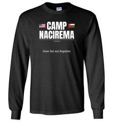 "Camp Nacirema ""GBNF"" - Men's/Unisex Long-Sleeve T-Shirt-Wandering I Store"