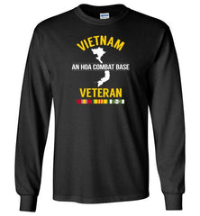 "Vietnam Veteran ""An Hoa Combat Base"" - Men's/Unisex Long-Sleeve T-Shirt-Wandering I Store"