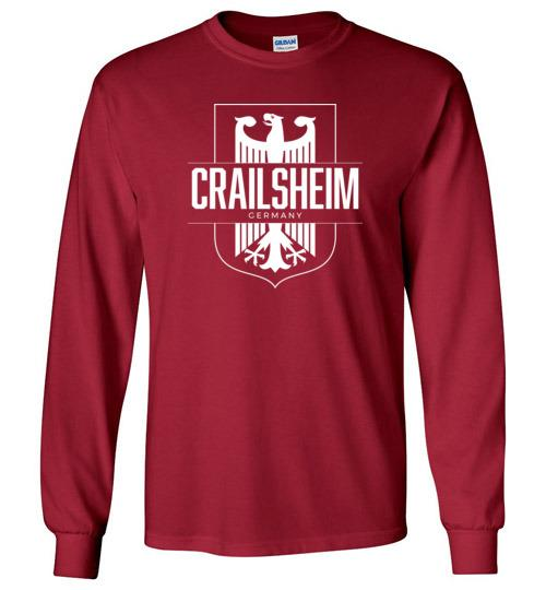 Crailsheim, Germany - Men's/Unisex Long-Sleeve T-Shirt-Wandering I Store