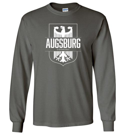 Augsburg, Germany - Men's/Unisex Long-Sleeve T-Shirt-Wandering I Store