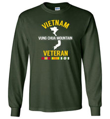 "Vietnam Veteran ""Vung Chua Mountain"" - Men's/Unisex Long-Sleeve T-Shirt"