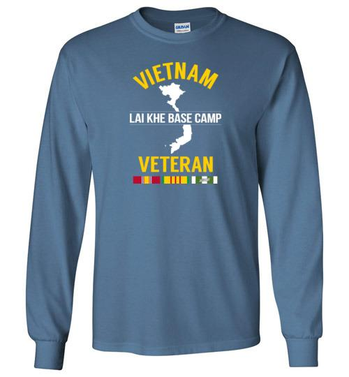 "Vietnam Veteran ""Lai Khe Base Camp"" - Men's/Unisex Long-Sleeve T-Shirt"