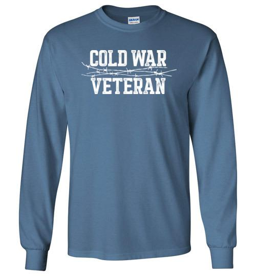 Cold War Veteran - Men's/Unisex Long-Sleeve T-Shirt-Wandering I Store