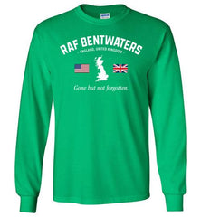 "RAF Bentwaters ""GBNF"" - Men's/Unisex Long-Sleeve T-Shirt-Wandering I Store"