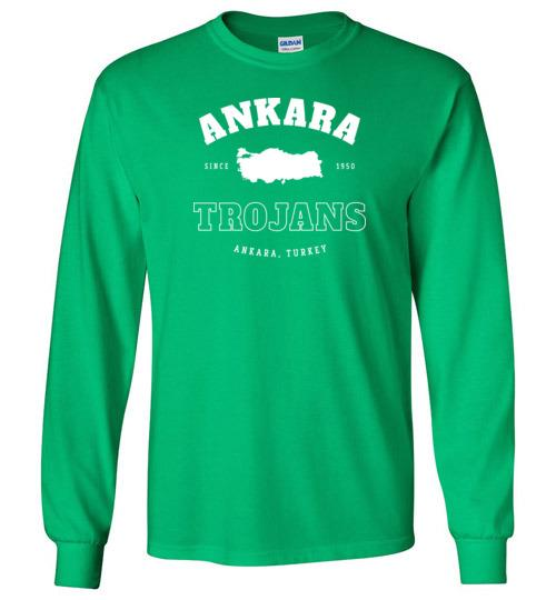Ankara Trojans - Men's/Unisex Long-Sleeve T-Shirt