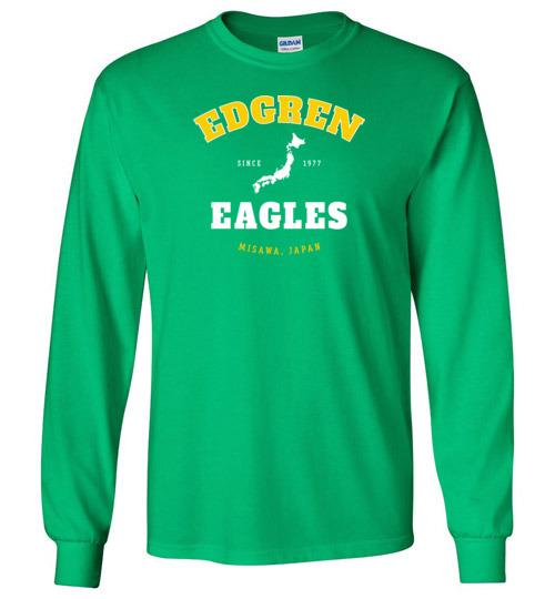 Edgren Eagles - Men's/Unisex Long-Sleeve T-Shirt-Wandering I Store