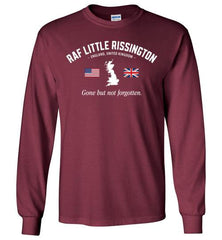"RAF Little Rissington ""GBNF"" - Men's/Unisex Long-Sleeve T-Shirt-Wandering I Store"
