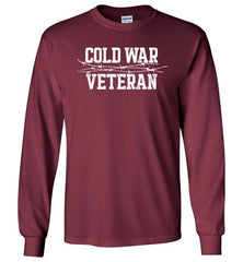 Cold War Veteran - Men's/Unisex Long-Sleeve T-Shirt