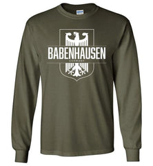 Babenhausen, Germany - Men's/Unisex Long-Sleeve T-Shirt-Wandering I Store