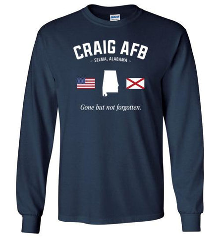"Craig AFB ""GBNF"" - Men's/Unisex Long-Sleeve T-Shirt-Wandering I Store"
