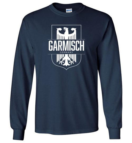 Garmisch, Germany - Men's/Unisex Long-Sleeve T-Shirt-Wandering I Store