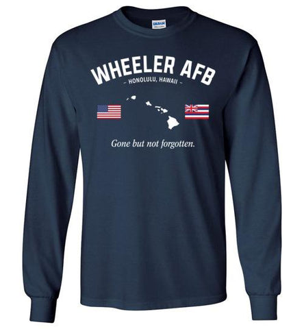 "Wheeler AFB ""GBNF"" - Men's/Unisex Long-Sleeve T-Shirt-Wandering I Store"