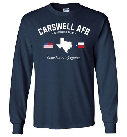 "Carswell AFB ""GBNF"" - Men's/Unisex Long-Sleeve T-Shirt-Wandering I Store"