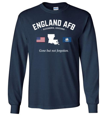 "England AFB ""GBNF"" - Men's/Unisex Long-Sleeve T-Shirt-Wandering I Store"