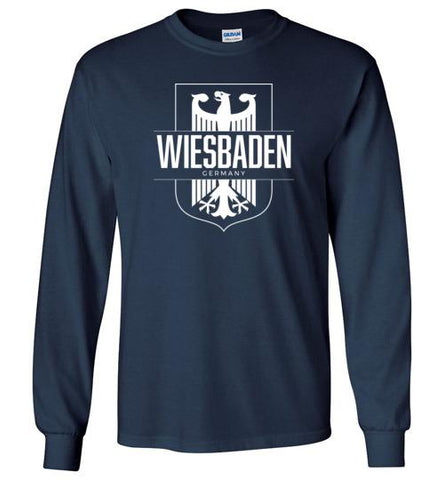 Wiesbaden, Germany - Men's/Unisex Long-Sleeve T-Shirt-Wandering I Store
