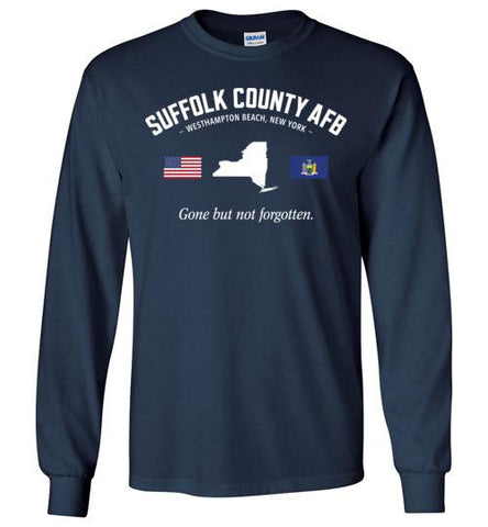 "Suffolk County AFB ""GBNF"" - Men's/Unisex Long-Sleeve T-Shirt-Wandering I Store"