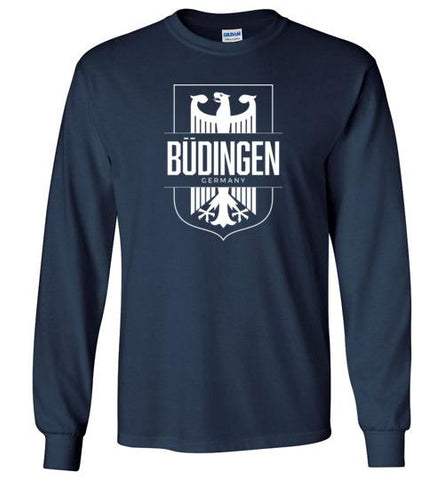 Budingen, Germany - Men's/Unisex Long-Sleeve T-Shirt-Wandering I Store