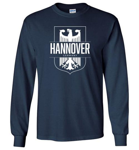 Hannover, Germany - Men's/Unisex Long-Sleeve T-Shirt-Wandering I Store
