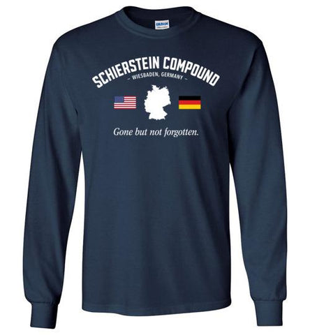 "Schierstein Compound ""GBNF"" - Men's/Unisex Long-Sleeve T-Shirt-Wandering I Store"