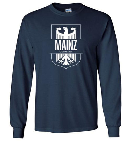 Mainz, Germany - Men's/Unisex Long-Sleeve T-Shirt-Wandering I Store