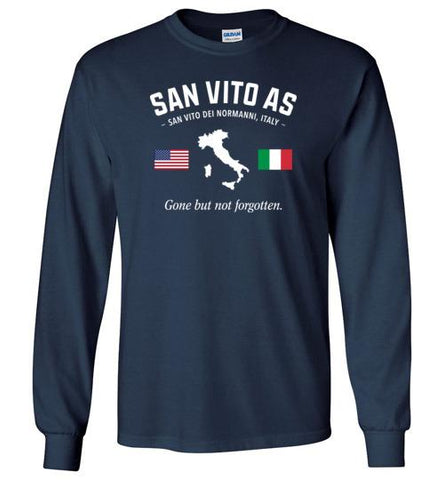 "San Vito AS ""GBNF"" - Men's/Unisex Long-Sleeve T-Shirt-Wandering I Store"
