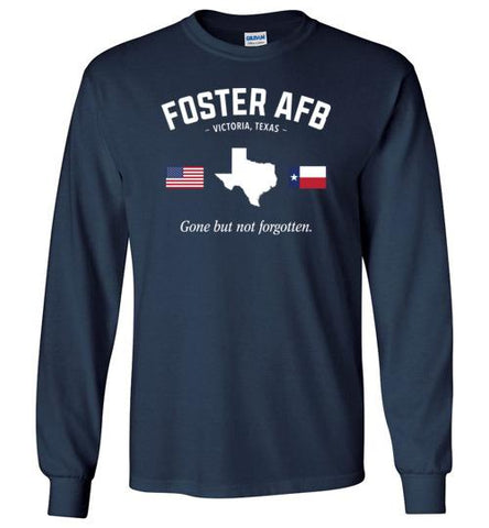 "Foster AFB ""GBNF"" - Men's/Unisex Long-Sleeve T-Shirt-Wandering I Store"
