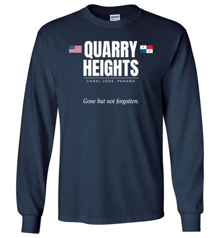"Quarry Heights ""GBNF"" - Men's/Unisex Long-Sleeve T-Shirt-Wandering I Store"