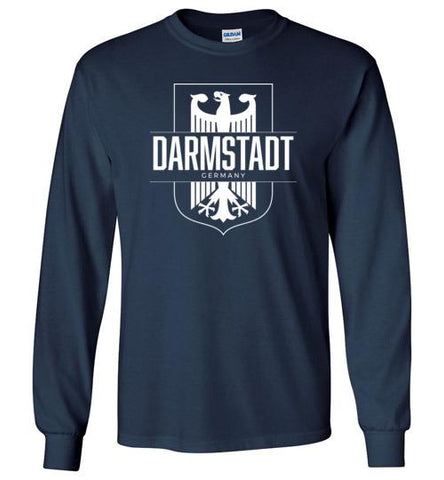 Darmstadt, Germany - Men's/Unisex Long-Sleeve T-Shirt