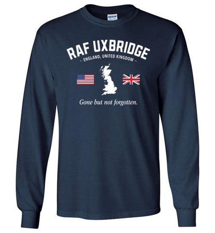 "RAF Uxbridge ""GBNF"" - Men's/Unisex Long-Sleeve T-Shirt-Wandering I Store"