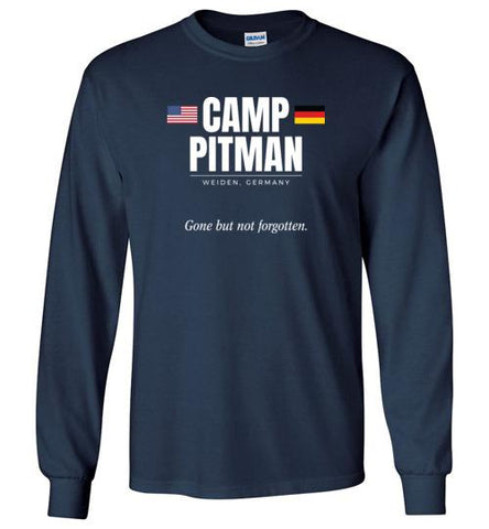 "Camp Pitman ""GBNF"" - Men's/Unisex Long-Sleeve T-Shirt-Wandering I Store"