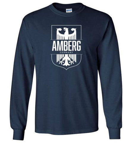 Amberg, Germany - Men's/Unisex Long-Sleeve T-Shirt-Wandering I Store