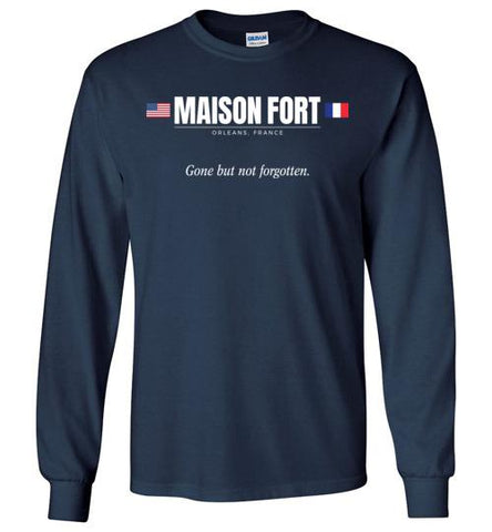 "Maison Fort ""GBNF"" - Men's/Unisex Long-Sleeve T-Shirt-Wandering I Store"