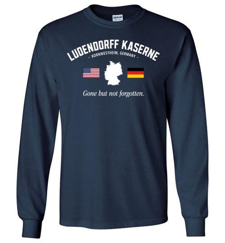 "Ludendorff Kaserne ""GBNF"" - Men's/Unisex Long-Sleeve T-Shirt-Wandering I Store"