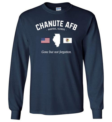 "Chanute AFB ""GBNF"" - Men's/Unisex Long-Sleeve T-Shirt-Wandering I Store"