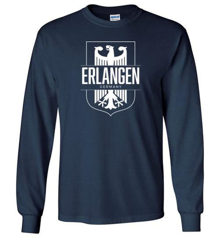 Erlangen, Germany - Men's/Unisex Long-Sleeve T-Shirt-Wandering I Store