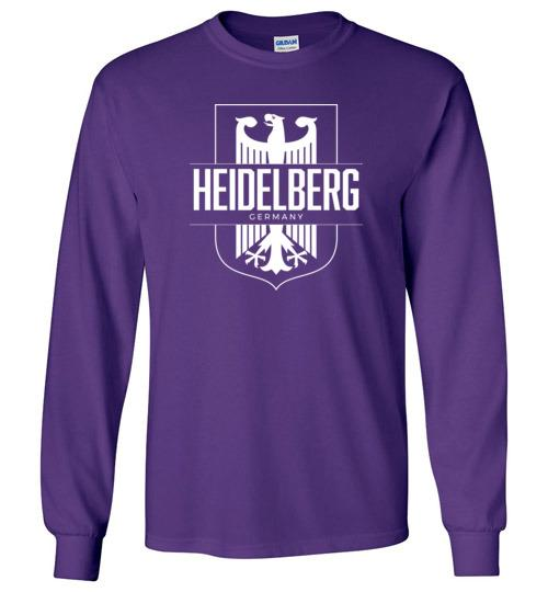 Heidelberg, Germany - Men's/Unisex Long-Sleeve T-Shirt-Wandering I Store
