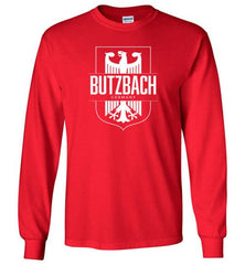 Butzbach, Germany - Men's/Unisex Long-Sleeve T-Shirt-Wandering I Store