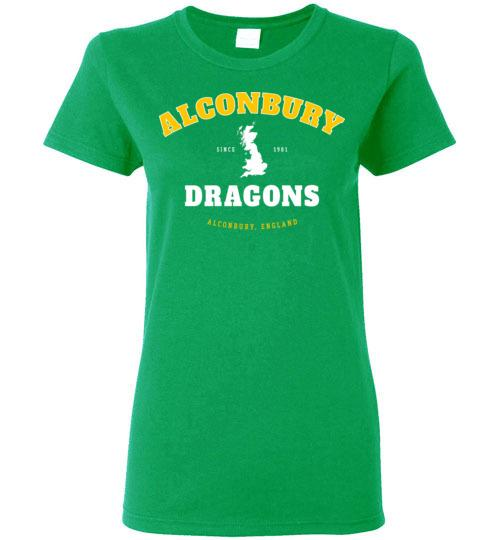 Alconbury Dragons - Women's Semi-Fitted Crewneck T-Shirt-Wandering I Store