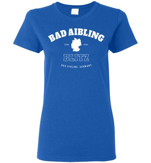Bad Aibling Blitz - Women's Semi-Fitted Crewneck T-Shirt-Wandering I Store